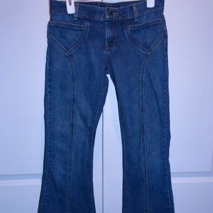 Denim - AMERICAN EAGLE OUTFITTERS Flare Denim Jeans Sz 4